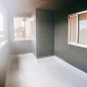 ◆2つ目のバルコニーは奥行き広めの屋根付きインナーバルコニーです