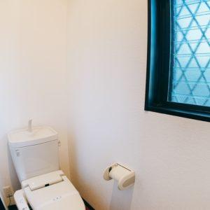 ※ウォシュレット付きの御手洗いです。