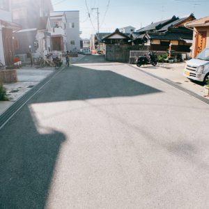 ※前面道路は6mの幅員があり安心ですよ♪