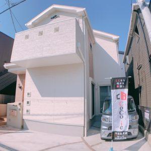 岸和田市上町 築浅中古戸建て誕生♬ 区画図