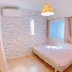 ◆アクセントクロスが可愛いお子様のお部屋です(^-^)