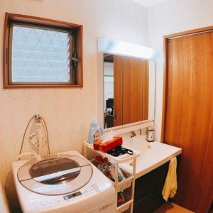 ◆1坪サイズの洗面となります。