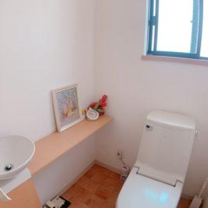 ●ゆとりの空間を御手洗いに設けました(^-^)