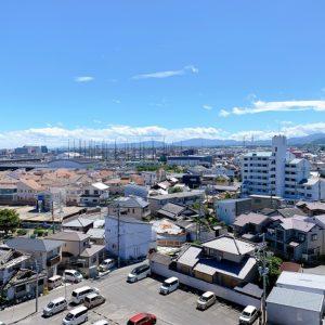 ◆8階からの景色です♪周りに大きな建物がなく開放感がありとても気持ちいいですね♫