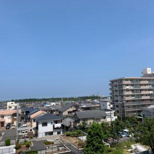 □5階からの眺めは良好です♪