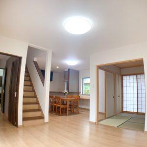 岸和田市上野町西に駐車3台OKの築5年ピカピカ中古戸建がでました♪ 区画図