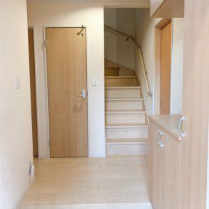 ★広々とした玄関です♪ちゃんと住んでおられますよ( *´艸`)すごく綺麗にされています♪