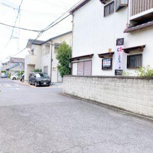 ◆2方向とも道路の幅員は約5.5m前後あり、ゆったりしています♪