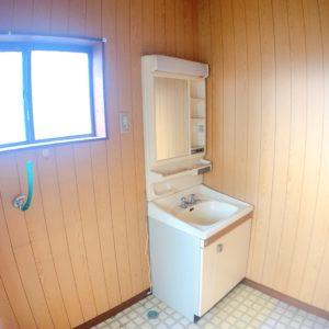◆洗面所は広くつくられていてゆったりしています(^^)/
