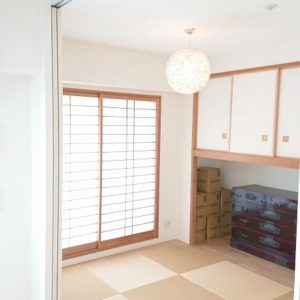 ◆リビングに隣接の和室は使い勝手が良いですよ♪