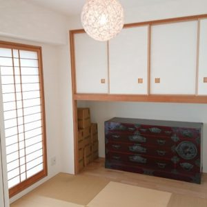 ◆お洒落な半畳タイプの和室です♪