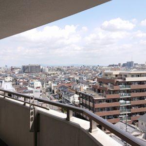 ◆上層階の角部屋なので視界を遮るものがありません。夜景はとても素敵ですよ♪