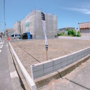 岸和田市上野町西2区画♪建築条件無売土地!(^^)/ 区画図