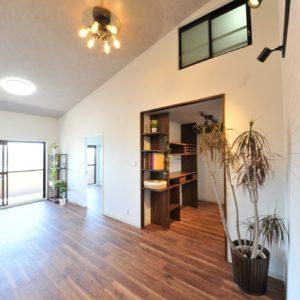 和泉市国府小学校区からリノベーション済みマンションサザンパーク最上階誕生♬