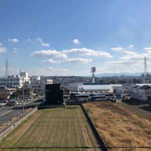 ◆上層階なのでバルコニーからの眺望はこんな感じです♪日当たり風通しは超良好