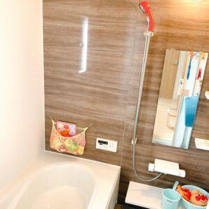 ◆明るく広々したお風呂は、疲れをとるのにも、子供と入るのにもありがたいです♪