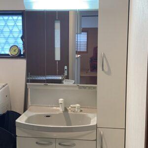◆洗面所も広いし収納いっぱいでほんとたすかる~♪