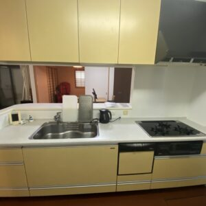 ◆しっかり収納もあって、食洗ついて、綺麗だし、調理スペースもしっかりあってめっちゃいいキッチン♪
