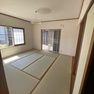 ◆1階の和室です。押し入れ2面、お庭への出入りできる部屋◆