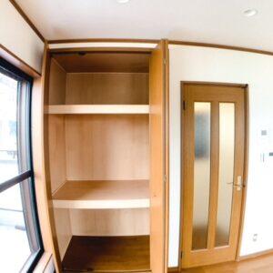◆リビング空間にある使い勝手の良さそうな収納です。