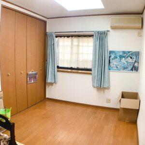 ◆各居室にはゆとりサイズの収納があります。