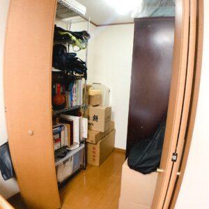 ◆2階の寝室は2帖の大きさのウォークインクロークがあります。