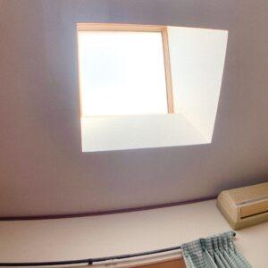 ◆真ん中の6帖寝室には天窓が有り優しい日差しが室内に差し込みます♪明るいですよーー。