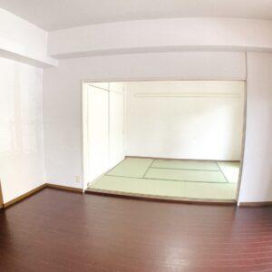 ◆隣接の和室は3枚引込みです。