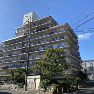 岸和田コーポラス2号棟角部屋4LDK♫ 区画図