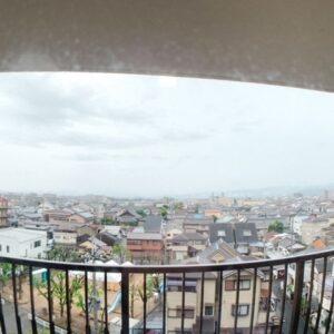 ◆リビング側のバルコニーからの景色です。。遮るものが無いってこういう事です♫